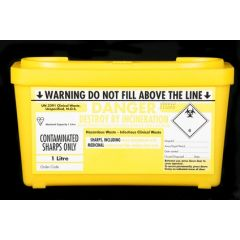 INF008a - Sharps Containers and Phlebotomy